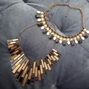 Jewelry - Statement necklaces and lace choker